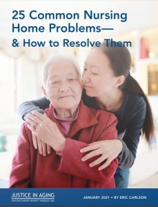 Cover to 25 Common Nursing Home Problems and How to resolve htem